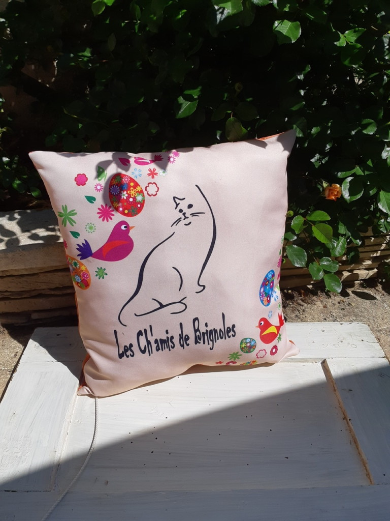 coussin chamis