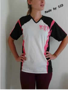 sublimation tee shirt sport